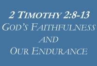 gods faithfulness our endurance
