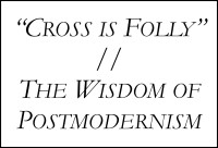cross is folly